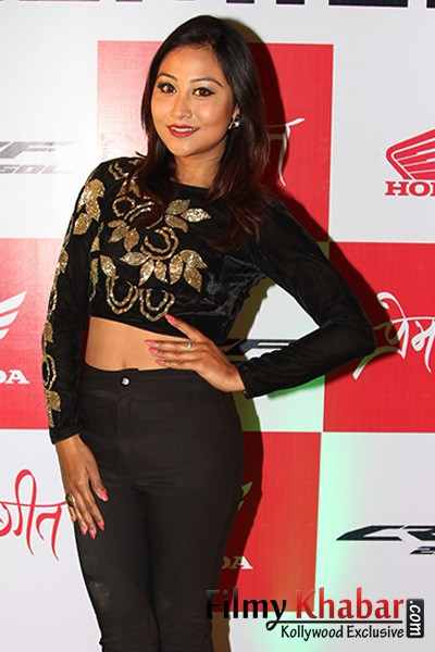 Ashishma Nakarmi :: PREM GEET movie premiere 2016 :: Picture